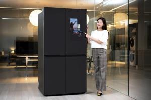 삼성전자, '패밀리허브' 적용 비스포크 냉장고 출시