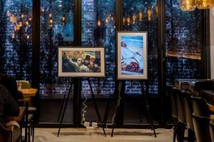넷기어, '뮤럴 갤러리 카페' 확대 운영…전국 카페에 명화 콘텐츠 지원